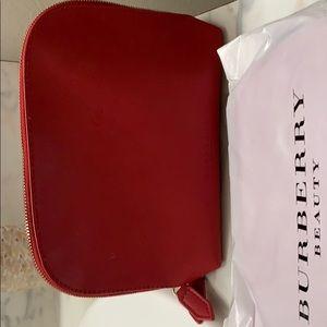 Burberry make up bag